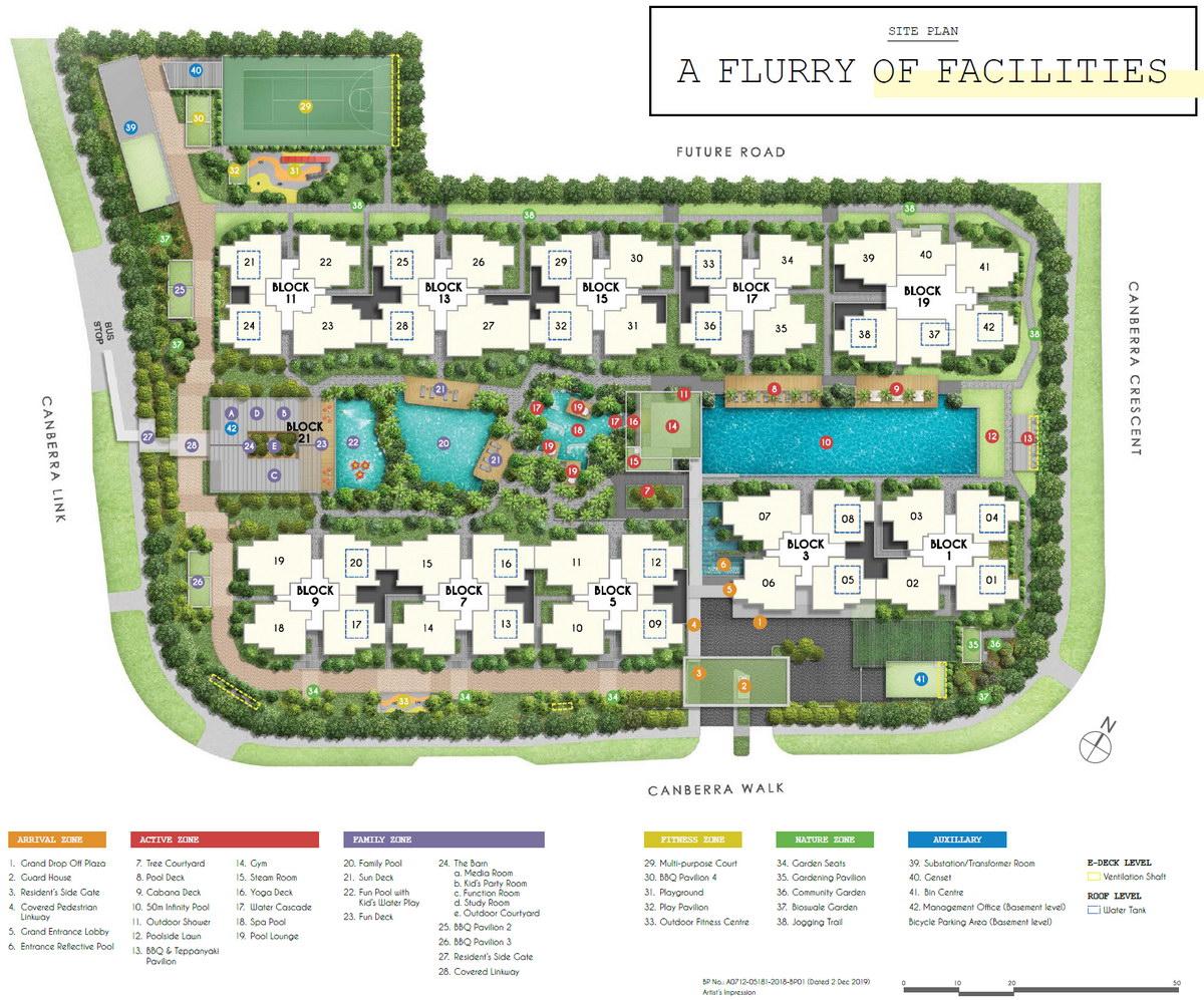 Parc Canberra EC Site Plan